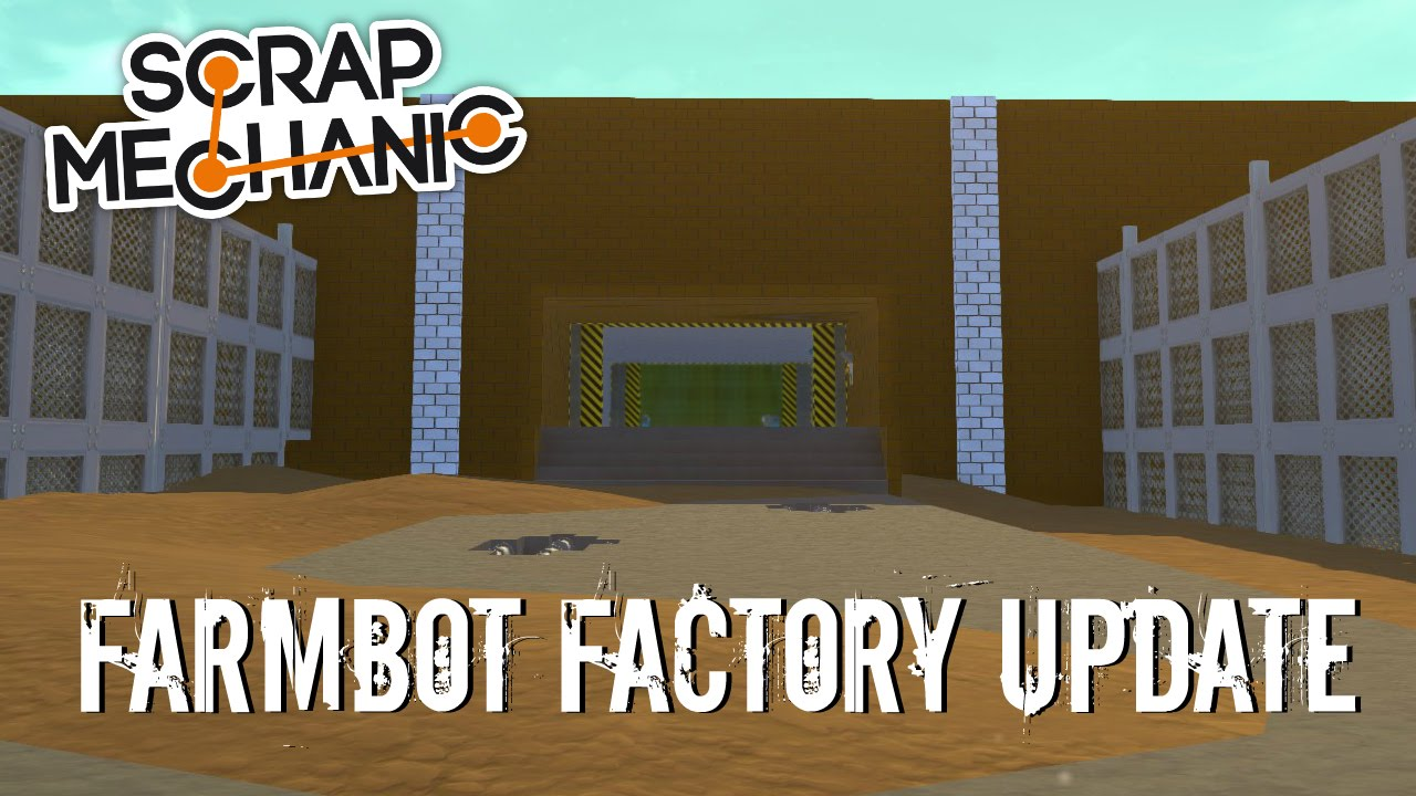 Scrap mechanic theme park ep 112 farmbot apocalypse zone (world.