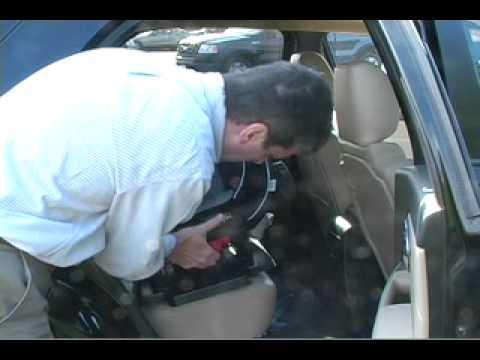 Car Seat Installation:  Evenflo Symphony Rear Facing