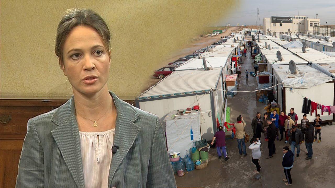 Sra. Amaya Valcarcel, Coordinadora del Servicio Jesuita a Refugiados