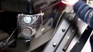 How to remove external rear D Pillar plastic trim on Range Rover L322