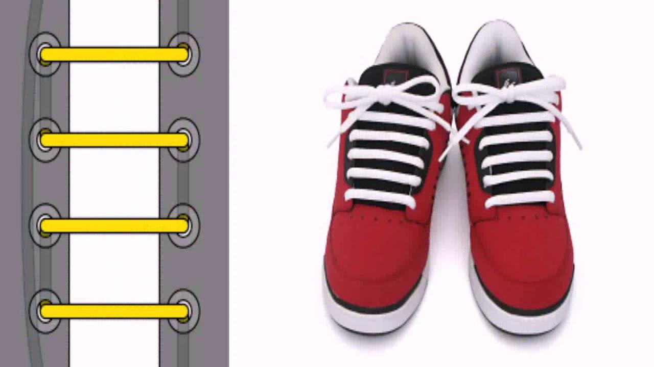 7bfa1d5a Как Круто Завязать Шнурки На Ботинках - YouTube