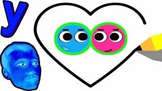 ПРоХоДиМеЦ и ВСТРЕЧА двух Маленьких ШАРИКОВ! #499 ИГРА для ДЕТЕЙ - Love Balls