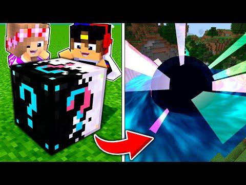 Майнкрафт но с Новыми Супер Лаки Блок МОД ! Девушка НУБ И ПРО Видео Троллинг Minecraft