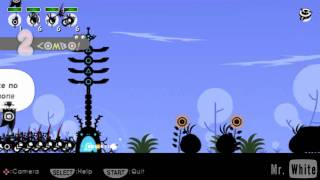 Patapon -PSP- 08.Acquiring the Don Drum [HD]