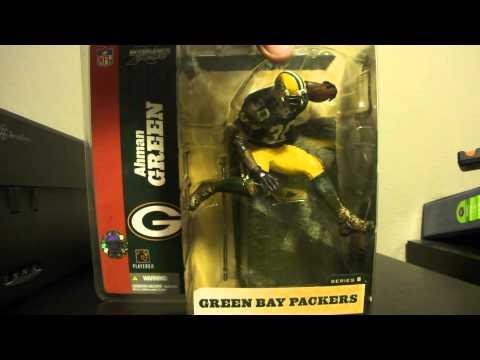McFarlane SportsPicks NFL Series 8 Ahman Green  Green Bay Packers