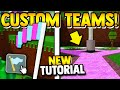 how to get YOUR OWN TEAM!! | Build a boat for Treasure ROBLOX