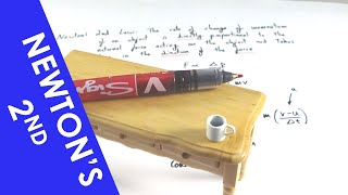 Newton's Second Law oḟ Motion - A Level Physics