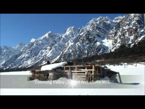 Yumthang Valley North Sikkim, A Photographic Journey HD 1080p