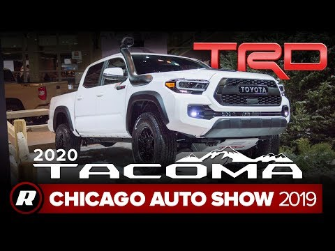 2020 Toyota Tacoma brings Android Auto to the US, more tech  | Chicago 2019
