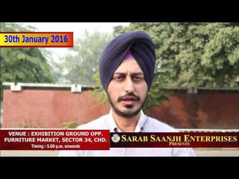 Satinder sartaj | Sarab Saanjh Enterprises | Sec.34  |9914541300