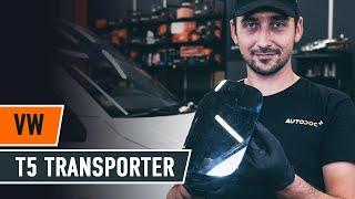 Wie VW TRANSPORTER V Box (7HA, 7HH, 7EA, 7EH) Glühbirne Kennzeichenbeleuchtung auswechseln - Tutorial