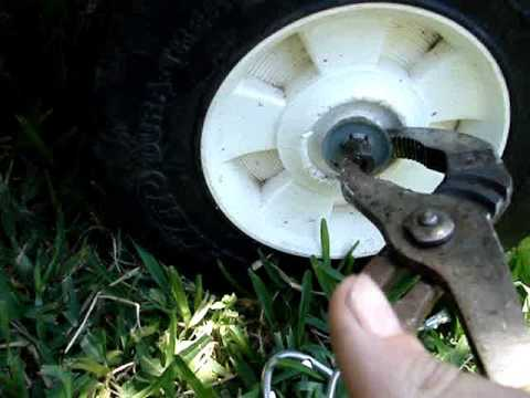 How To Remove The Push Nuts On Power Wheels And Other Kid