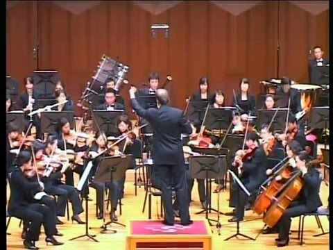 PIOTR BORKOWSKI conducts A. DVORAK - SYMPHONY NO 8 2nd movement