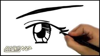 Curso de Mangá: Como Desenhar Olhos do Mangá (How To Draw Manga Eyes)