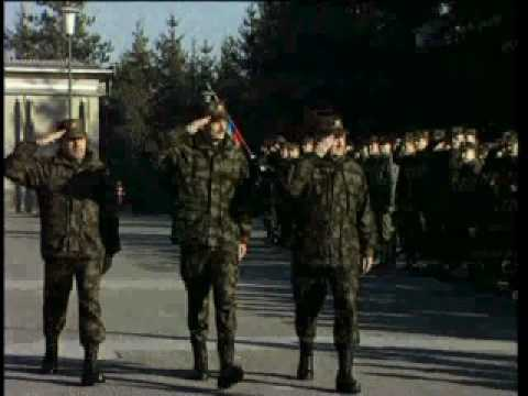 Slovenian armed forces in the service of Slovenia - part 3.