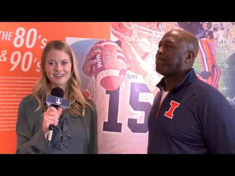 Lovie Smith Illini Pro Day Interview | 3/16/17