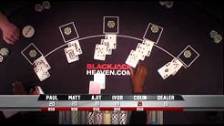 'European Blackjack Open' filmed and produced by Emblaze Productions Ltd