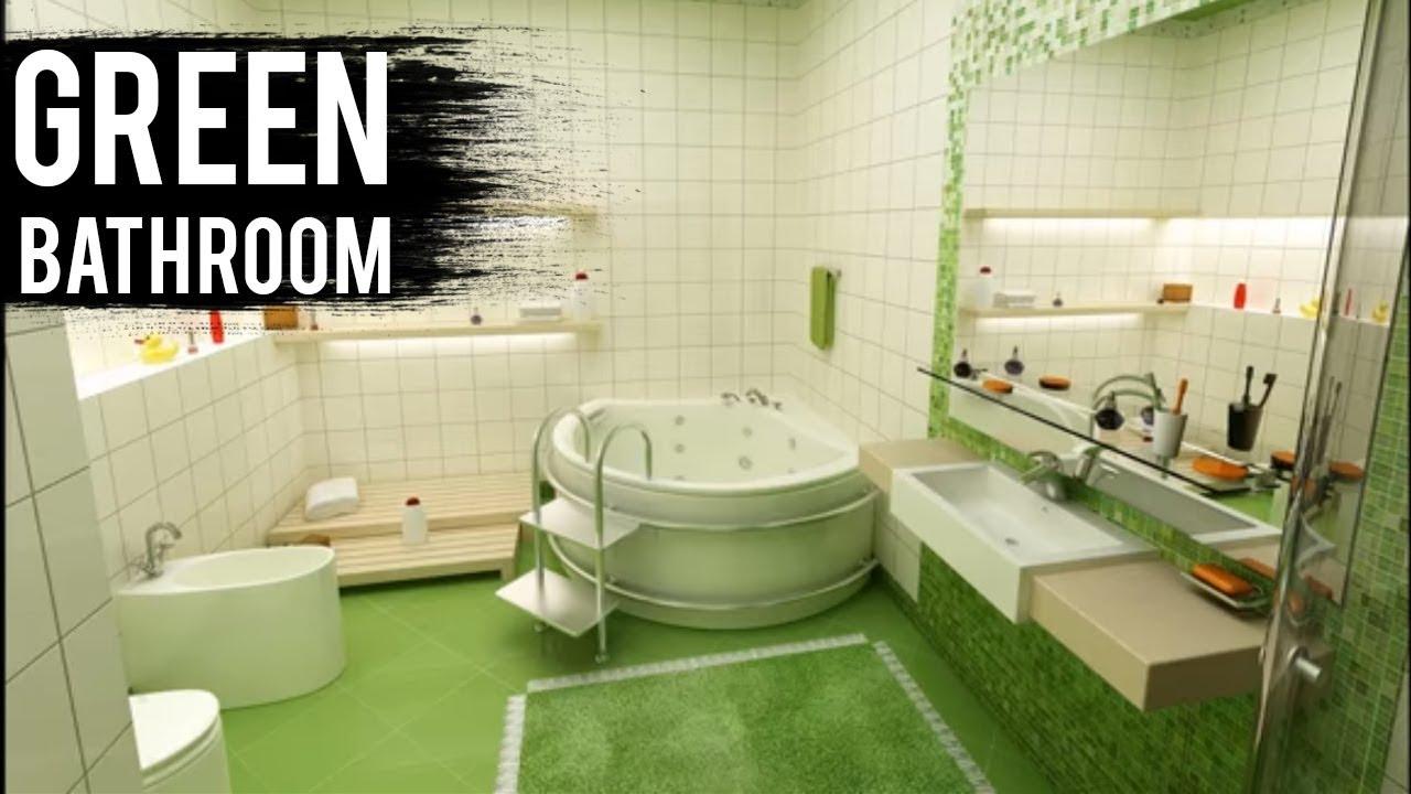 Green Color Bathroom Design Ideas Youtube