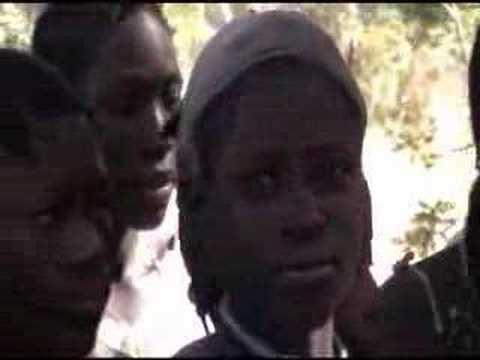 Village sings bye bye satan - Zambia