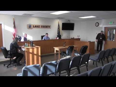Lake County Commissioners work session part two 1-2-2018