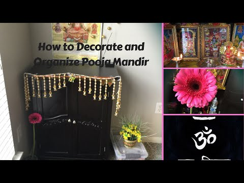 How to Decorate and Organize Pooja Mandir at home
