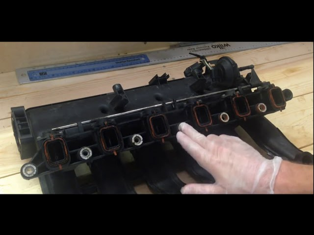 Swirl Flap Drallklappen Abdeckung Ansaugbrücke  BMW