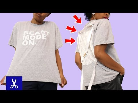 Top 10 Cool & Easy T-shirt Ideas! | Upcycle Old Clothes Ep.1
