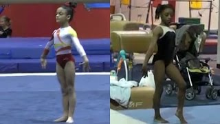 Watch Your Favorite Olympic Gymnasts Blow Your Mind as Kids