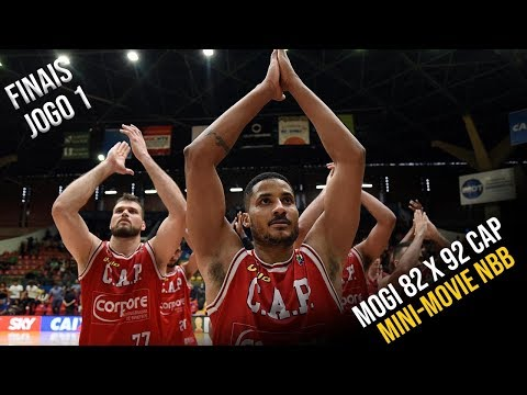 Mini-Movie NBB - Final - Mogi 82 x 99 CAP - Jogo 1