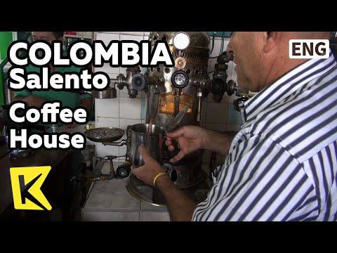 【K】Colombia Travel-Salento[콜롬비아 여행-살렌토]중앙광장, 커피 하우스/Coffee House/Central Square/Coffee/Cafe