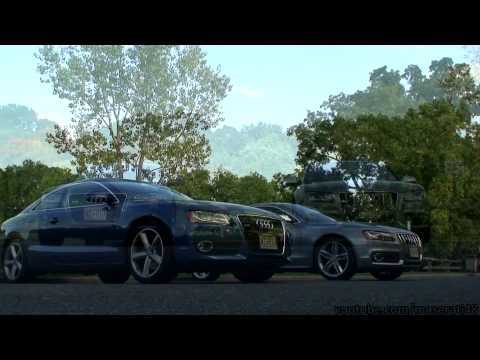 Audi S5 and A5-Side by Side Short Film-(HD)