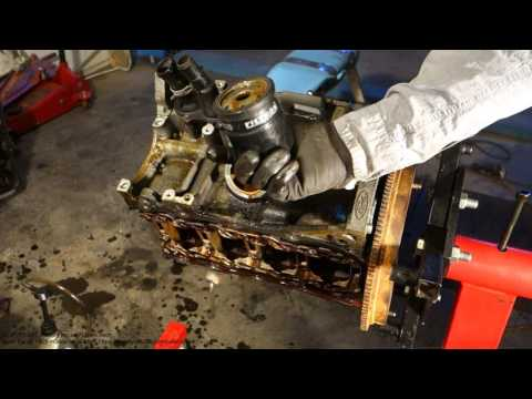 How to replace Ford Zetec engine oil filter