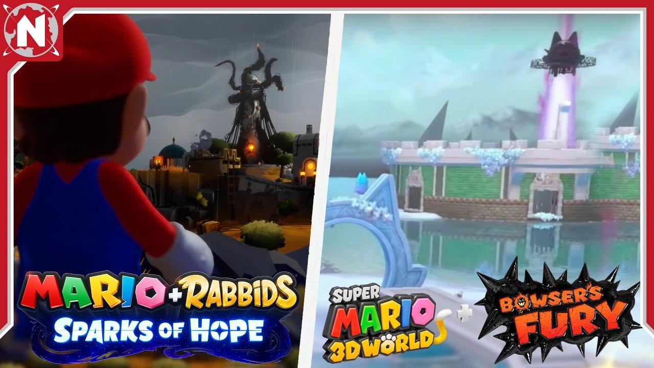 Lo Que te PERDISTE de Mario + Rabbids Sparks of Hope
