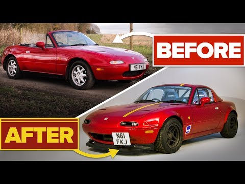 How It Took £25,000 And 5 Years To Make My Perfect V6 MX-5!