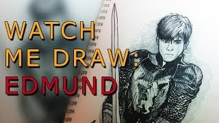 Watch Me Draw: Ep.1 - Edmund from The Chronicles of Narnia (GoPro)