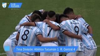 [ INFERIORES AFA 7ma DIVISIÓN ] Atlético Tucumán vs Rosario Central