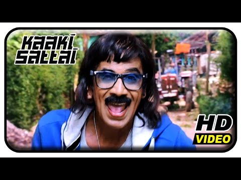 Kaaki Sattai Tamil Movie | Back To Back Comedy Scenes | 1 |