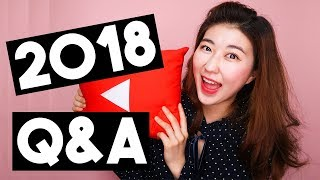 I Quit My Job For Youtube! My Plans for 2018 +  Q&A | 한국언니 Korean Unnie