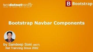 Bootstrap Tutorial Create a Responsive Navigation Menu Navbar Components