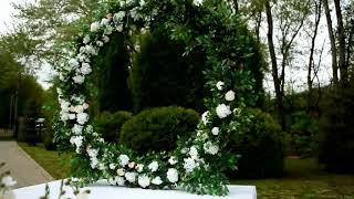 Декор свадьбы Дмитрия и Виктории