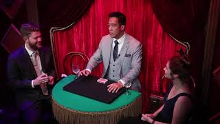 Ryan Hayashi - The Dreams Come True Act at The Magic Castle in Hollywood, Los Angeles 2018