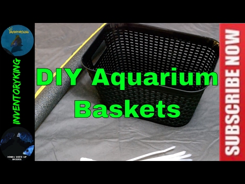 HOW TO Build Cheap Time Out Baskets For Your Fish | Perfect for African Cichlids, Cichlids and More