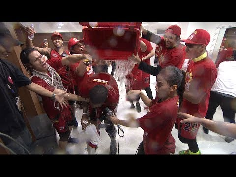 SMB's Locker Room Celebration - 2017 Commissioner's Cup Champions (VIDEO)