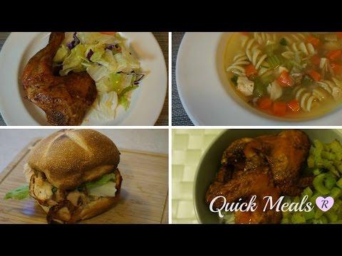 Rotisserie Chicken 4 Ways