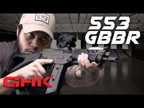 SNEAK PREVIEW: GHK 553 GBBR - RedWolf Airsoft RWTV