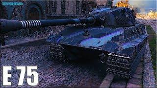 Как играют ТОП статисты ☠️ E75 World of Tanks EPIC WIN