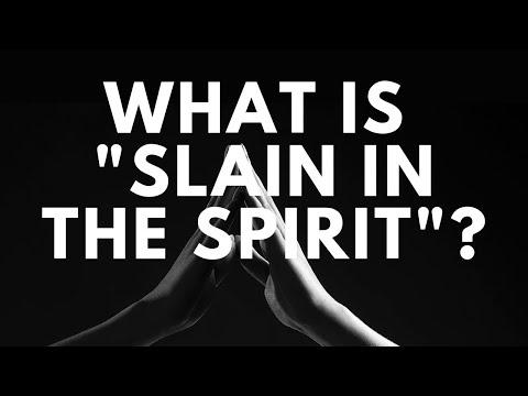 Bring It On-Line: Slain in the Spirit