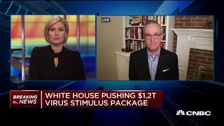 White House pushes for $1.2 trillion coronavirus fiscal stimulus package