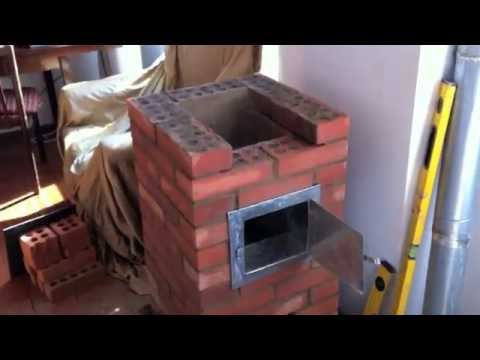 Thumbnail: Small masonry heater