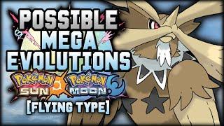 New Mega Evolutions In Pokemon Sun And Moon [Flying Types]